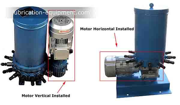 DDB-10-Motor-horizontal and vertical installation
