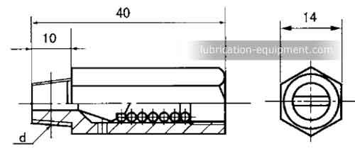 KM,-KJ,-KL Pressure relief valve