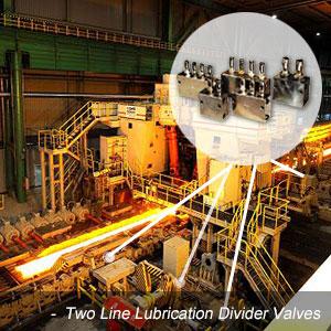 Two-Line-Lubrication-Divider-Valves