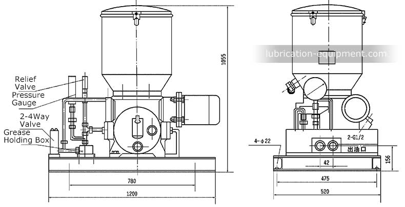 Electric-Grease-Pump-HB-P, BType