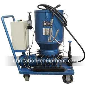 Tragbare elektrische Fettschmierpumpe DDB-XEM