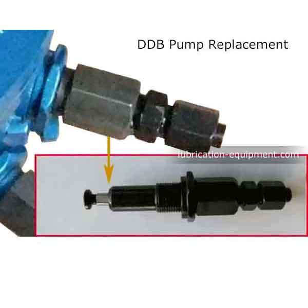 استبدال DDB مضخة التشحيم العنصر