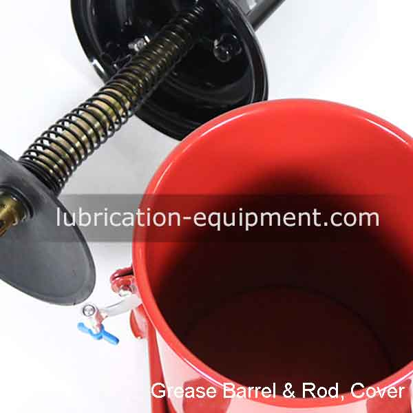 Pompa Air Grease Lubricating Barrel